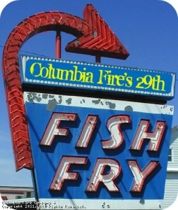Fish Fry at Columbia Fire Co.; photo courtesy of Columbia Fire Co.