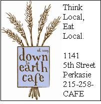 Down to Earth Cafe advert