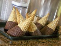 Chocolate cones