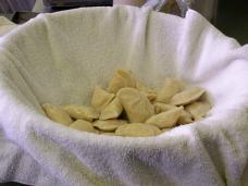 Drying pyroghy
