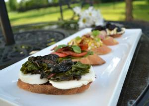 Swiss Chard Bruschetta