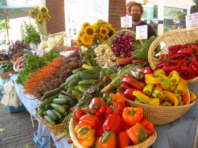 Blooming Glen Farm at Headhouse Market; photo courtesy of Blooming Glen Farm