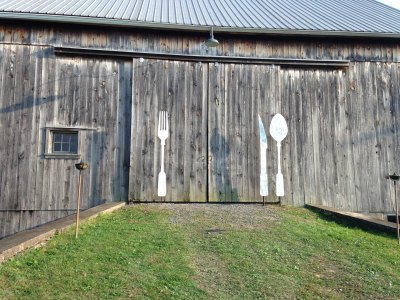 Barn Doors; photo by LGoldman