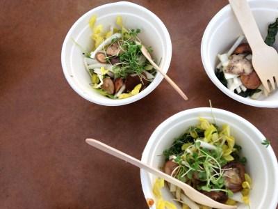 Kale Salad; photo by L Goldman