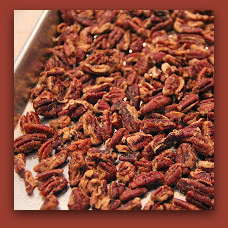 Maple pecans; photo by H. Kirby