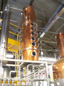 Dad's Hat Rye Distillery; photo by L. Goldman