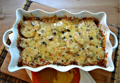 A warming gratin for a cold day