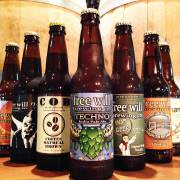 Free will brewings bottles