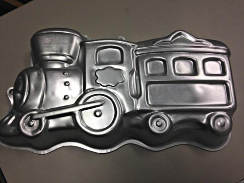 choo-choo train cake pan