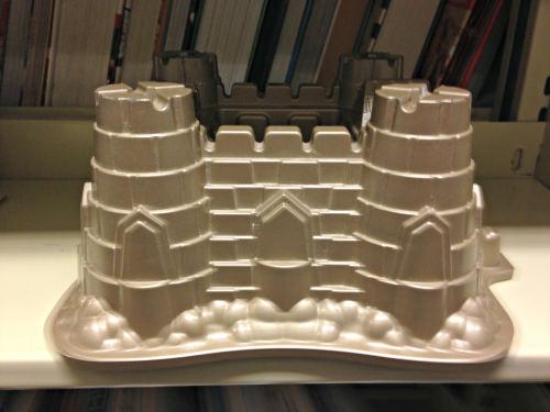 sand castle cake pan