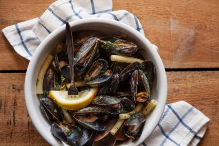 Mussels at Hattery