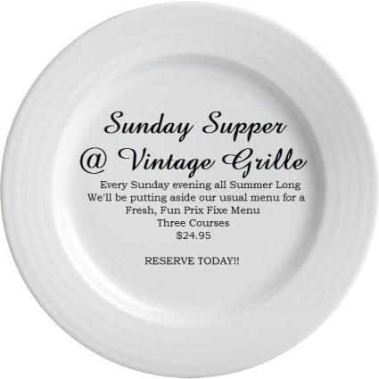 Sunday Supper_Vintage Grille