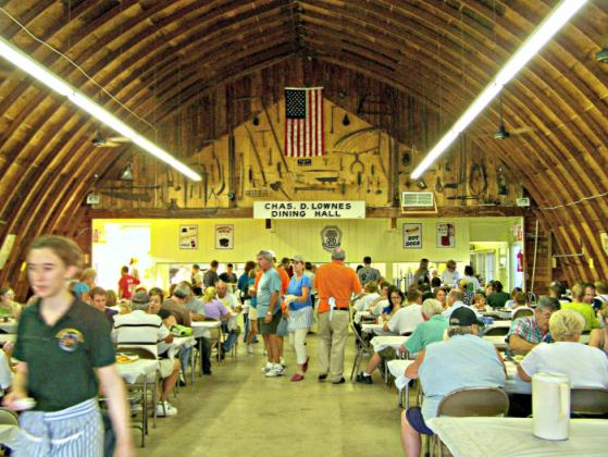 Grange Fair Dining Hall