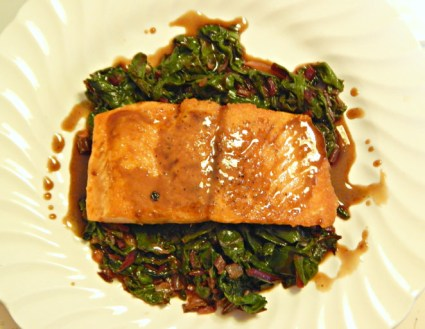 Salmon and chard_Rich Baringer