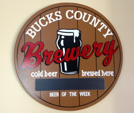 BC Brewery sign