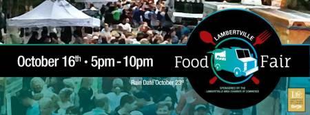 Lambertville Food Fair Banner