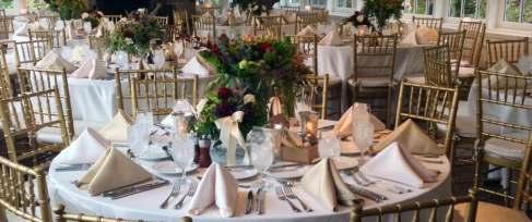 Golden Pheasant Inn table