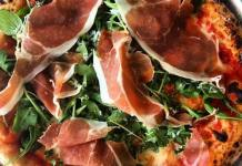 Liberty Hall Pizza_proscuitto pizza