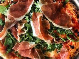 Liberty Hall Pizza_proscuitto pizza