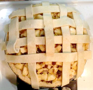 latice_apple gluten free pie_Wendy Yurgosky_lattice top