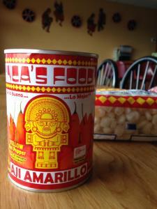 Aji Amarillo peppers_Quinoa_photo by L. Goldman