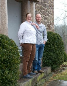 Chefs Ian Knauer and Shelley Wiseman of Farm Cooking School