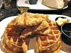 Churchville Inn_chicken and waffles