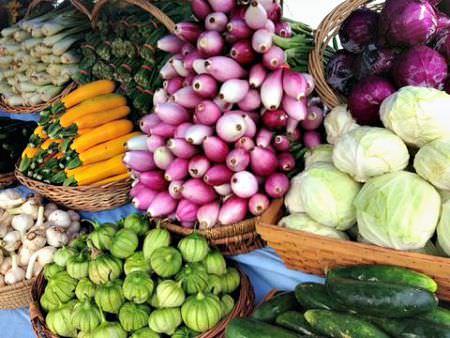 Blooming Glen Farm produce