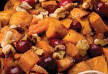 Apple Cider & Maple Glazed Sweet Potato