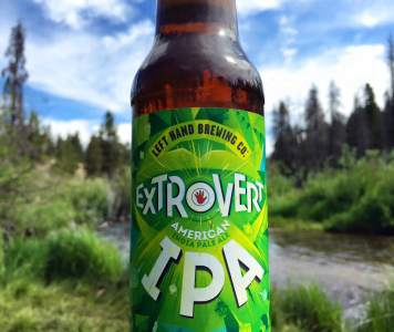 Extrovert IPA, Left Hand Brewery Company
