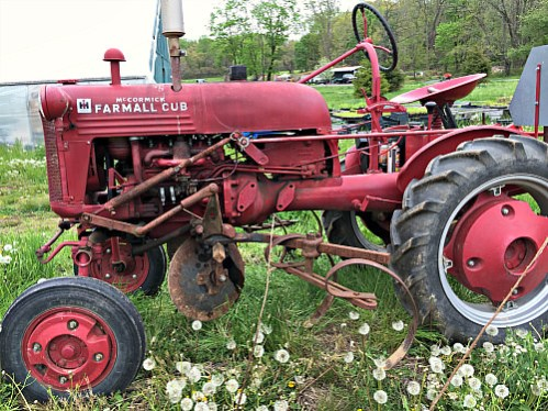 Tractor_Roots to River Farm; photo credit Lynne Goldman