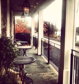Golden Pheasant Inn patio