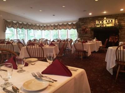 Rising Sun Inn dining room