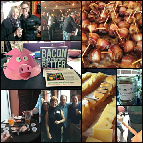 Bucks Bacon & Beer collage
