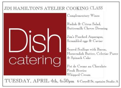 Dish Catering at Hamilton's Grill Room