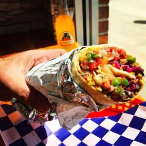 Burrito at Andale Latino Grill
