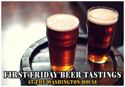Beer tastings at the Washington House