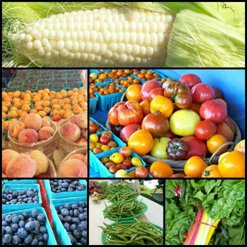 Summer produce; photo credit Lynne Goldman