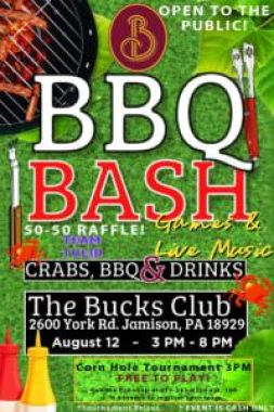 bbq bash at the Bucks Club