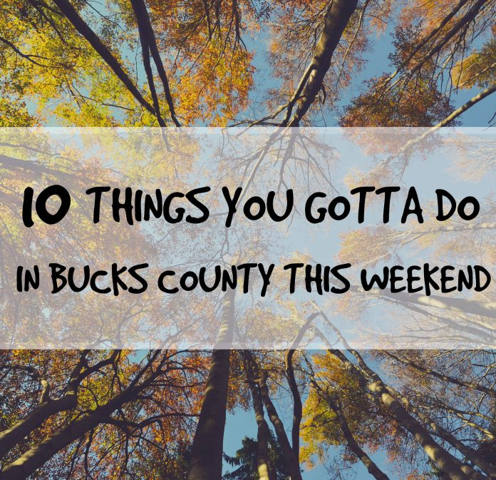 10 things you gotta do in bucks county this weekend theres malvernweather