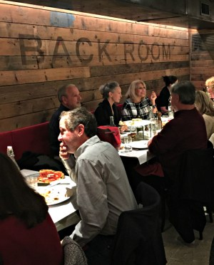 Bucks County Taste Dinner Club at Liberty Hall Pizza, Dec 2016