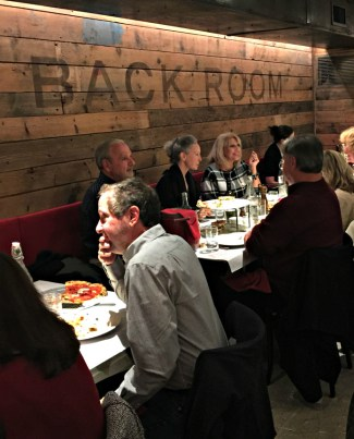 Bucks County Taste Dinner Club at Liberty Hall Pizza
