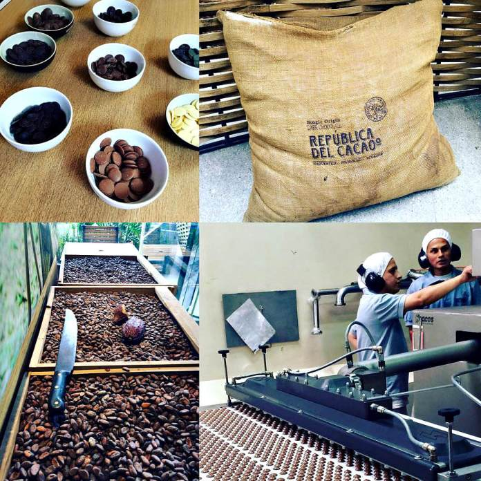 Republica del Cacao processing facility. Photo courtesy Pierre's Chocolates.