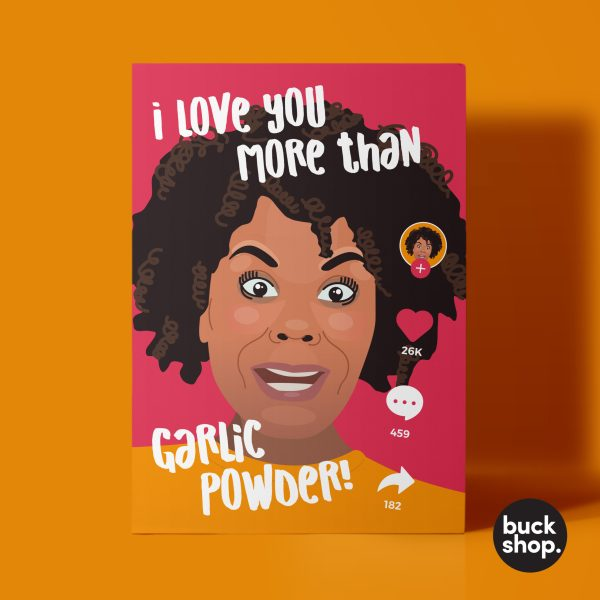 Tabitha Brown from TikTok Greeting Card by BuckShop.co.uk
