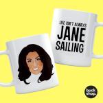 Jane McDonald - Personalised Mug - Jane Sailing