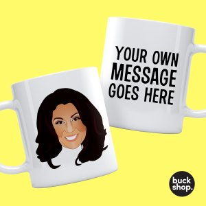 Jane McDonald - Personalised Mug - Your Message