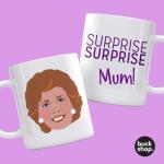 Cilla - Surprise Surprise inspired Personalised Mug