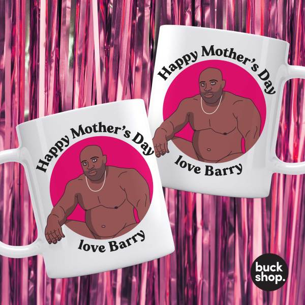 Barry Wood Mug - Mother's Day - Happy Mother's Day from Barry