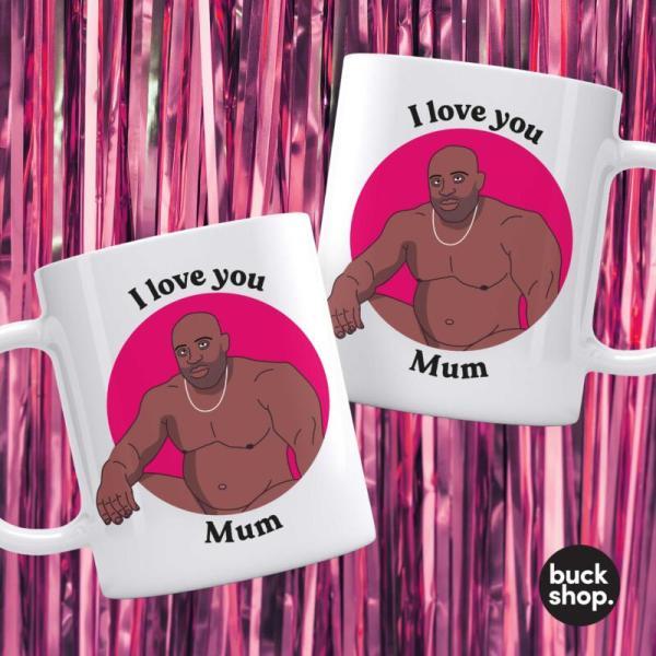 Barry Wood Mug - Mother's Day - I love you Mum