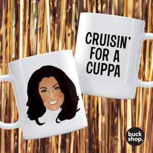Jane McDonald - Personalised Mug - Cruisin For A Cuppa